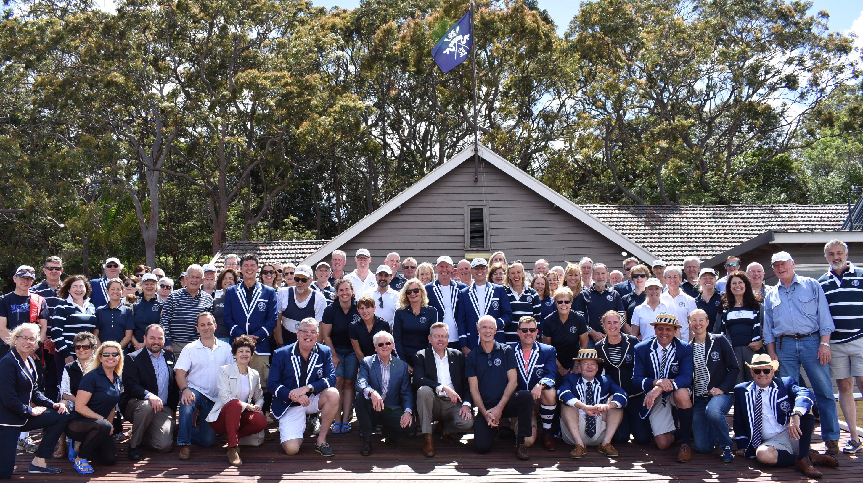 North Shore Rowing Club Pontoon Official Opening