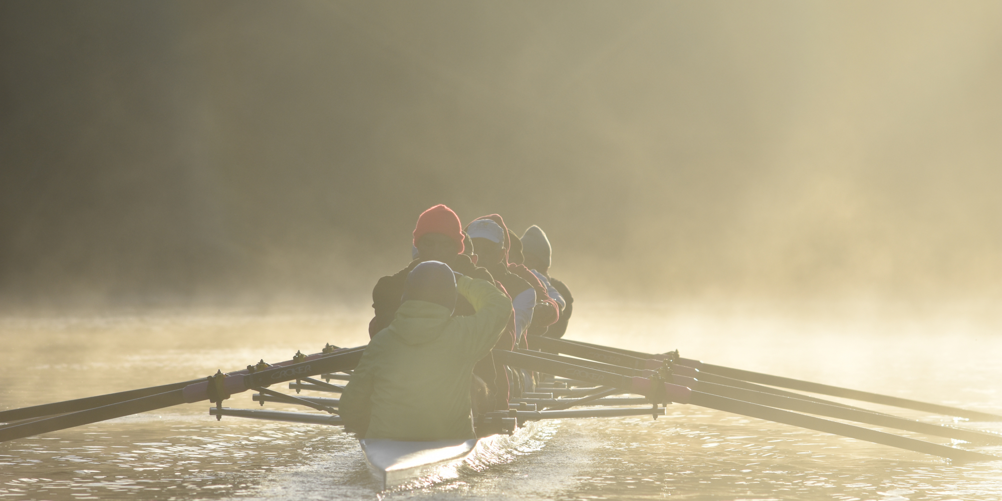Annual row to the weir