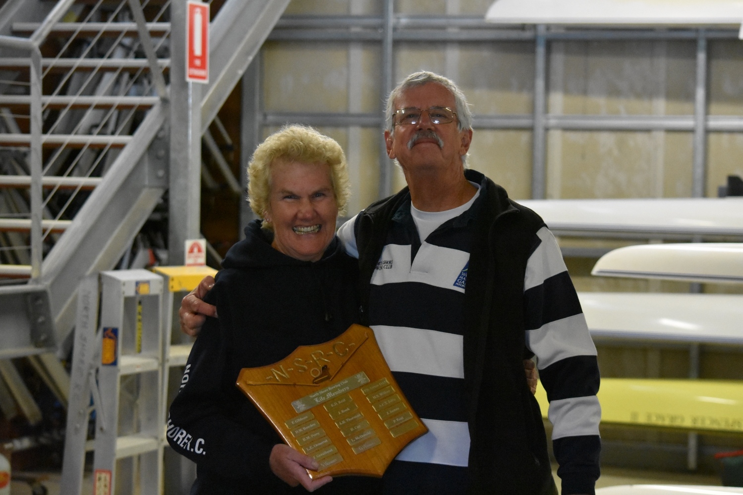 Sue and Geoff Wannan - Life Members!