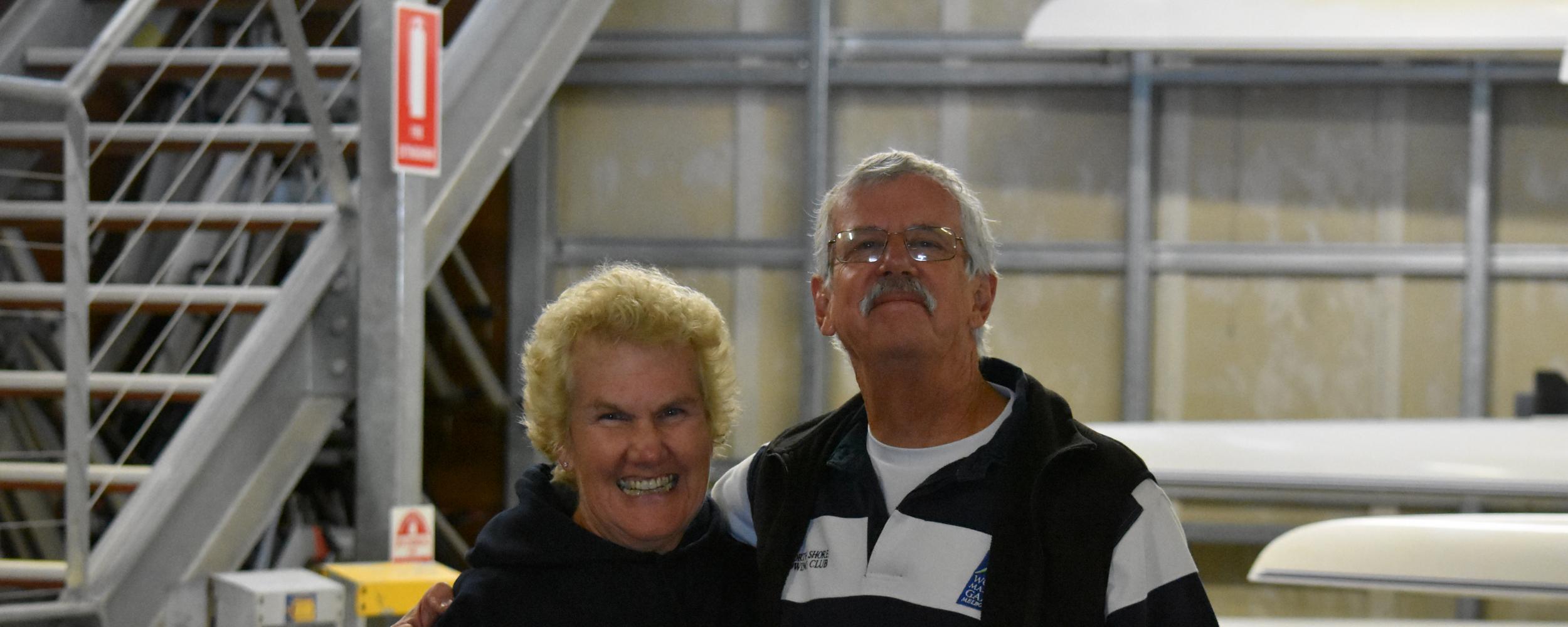 Sue and Geoff Wannan - Life Members!